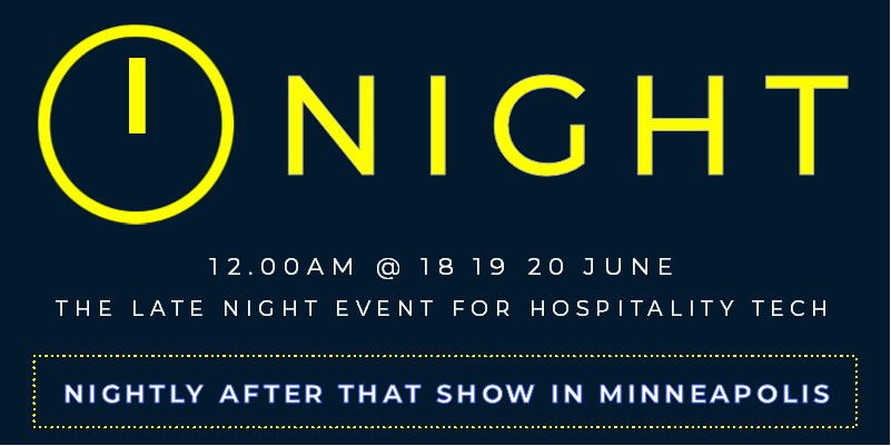12 Midnight logo - the late night event for Hospitality Tech