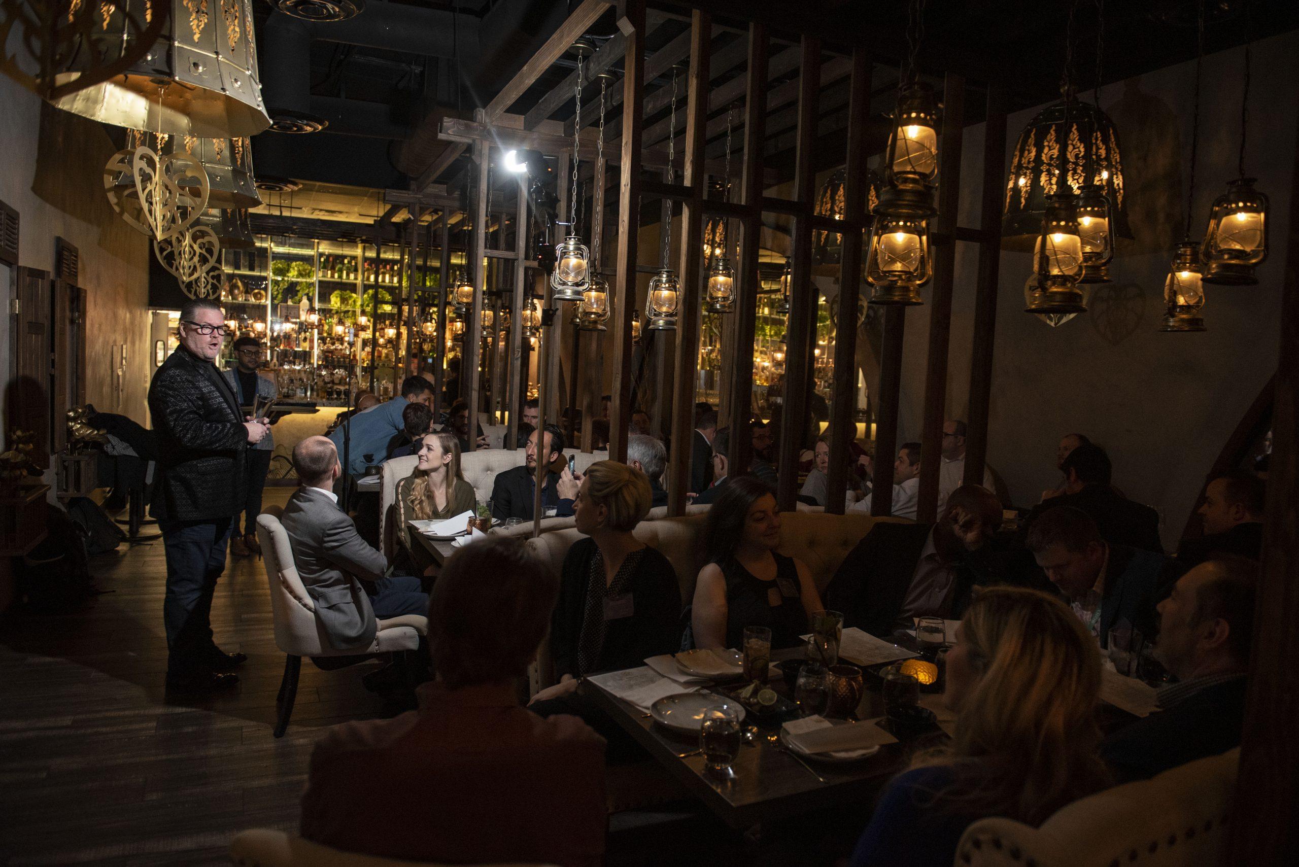The Hospitality Hacks & Pundits Dinner at Lamaii in Las Vegas