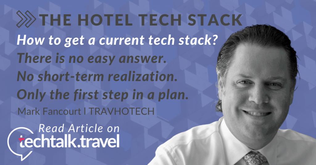 Travohtech techtalk.travel Hotel Tech Stack